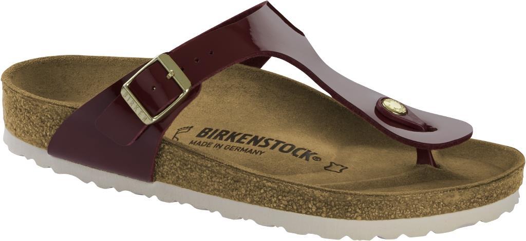 Birkenstock, Gizeh Bordeaux, Birko Flor Patent
