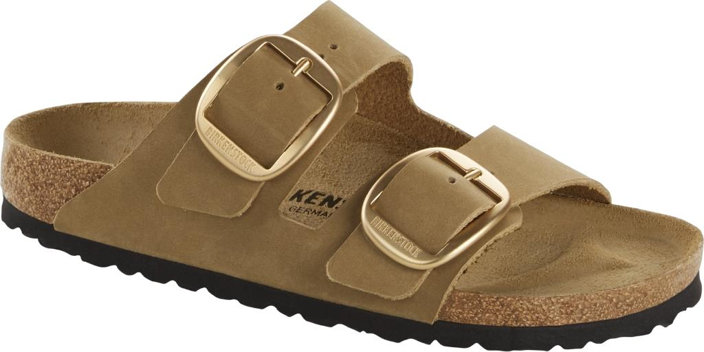 Birkenstock Buckle Leather Sandali